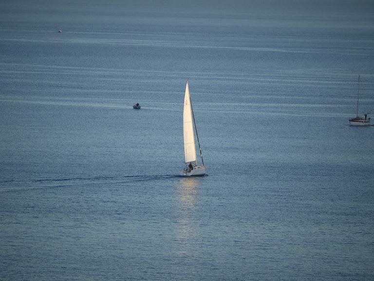 Segelbåt utanför Malta