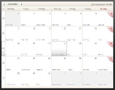 Almanacka.nu en kalender på nätet