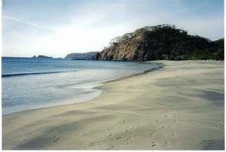 Stranden i Costa Rica
