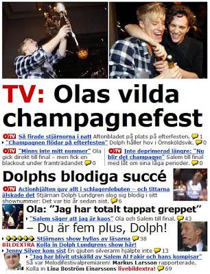Aftonbladets startsida