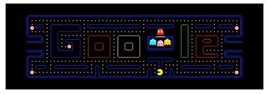 Googles Pacman-doodle