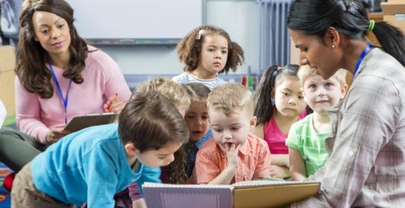 Högläsning barn