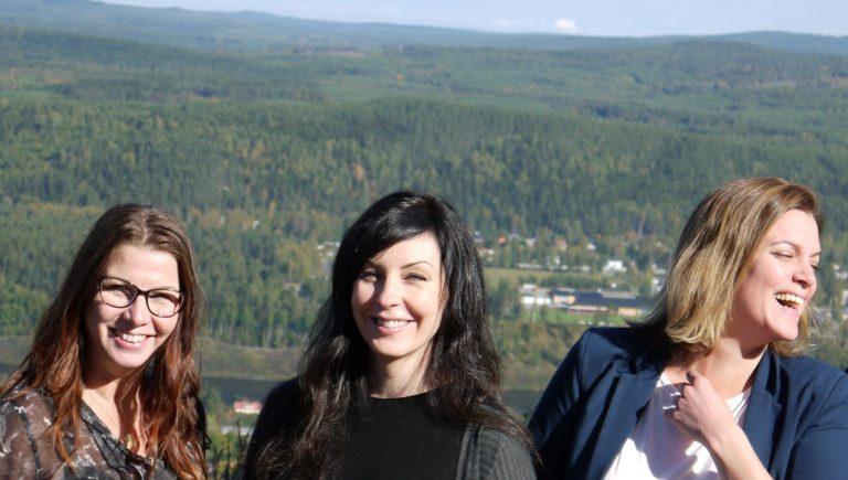 Marianne Nordström, Anne-Lii Alenius och Maria Bråth
