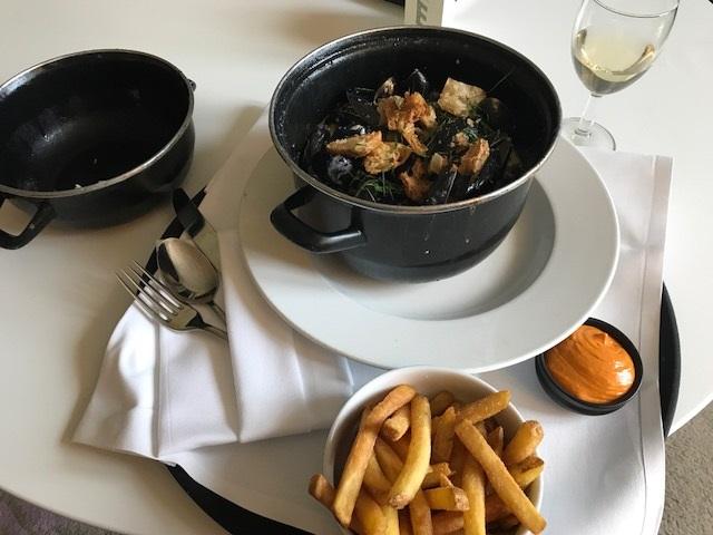 Moules Frites Roomservice