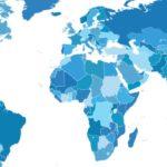 Karta över världen